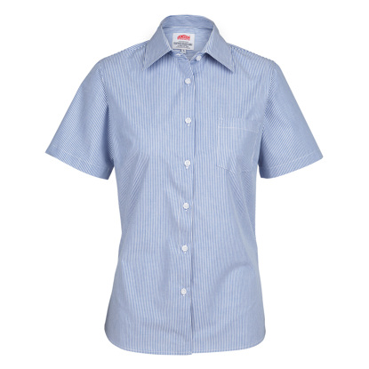 Picture of Women's Short Sleeve Stripe Shirts