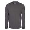 Picture of Mélange Combed Cotton Blend Long Sleeve Tee Shirt