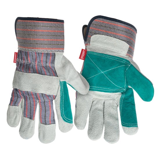 Picture of Leather Fabric Back Reinforced Palm Gloves