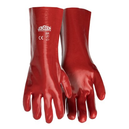 Picture of Smooth PVC Elbow Length Gloves