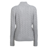 Picture of Women's Cable Knit Button Up Jersey