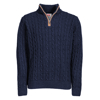 Picture of Cable Knit ¼ Zip Jersey